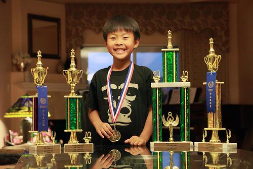 Trophy winner!